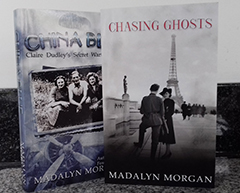 China Blue and Chasing Ghosts for Blog Tour